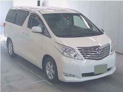 Toyota Alphard NEW SHAPE 2.4 Mistral Campervan Motorhome Petrol Pearlescent WhieToyota Alphard NEW SHAPE 2.4 Mistral Campervan Motorhome Petrol Pearlescent Whie at Budget Bongos Southampton