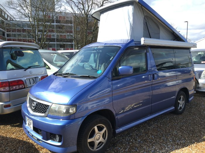 Used Mazda Bongo Mistral Camper V6 For Sale In Southampton Hampshire Budget Bongos