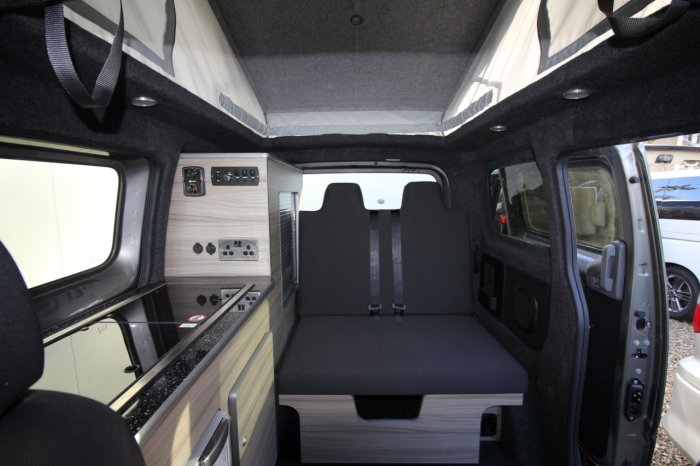 used nissan nv200 15 dci 89 acenta mistral camper for sale. Black Bedroom Furniture Sets. Home Design Ideas