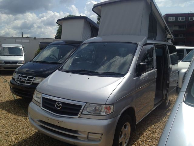 Mazda Bongo 2.0 Mistral Camper with elevating roof MPV Petrol Metallic Silver