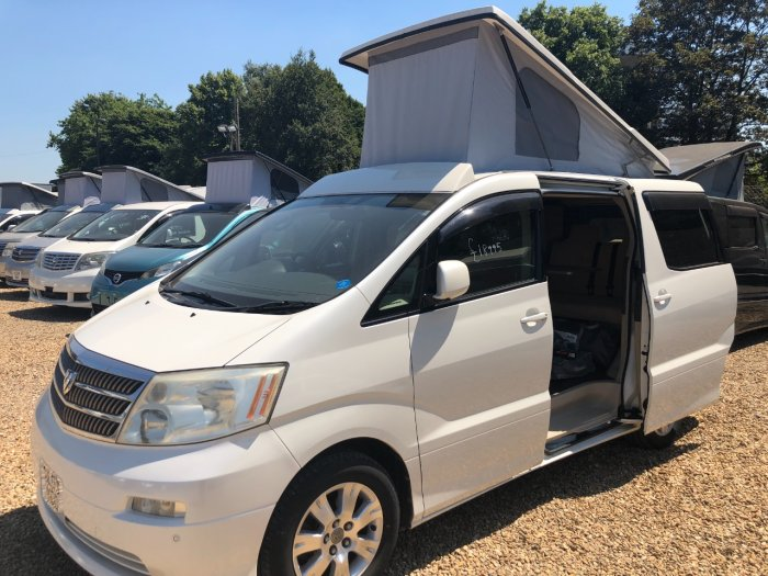 Toyota Alphard 2.4 Mistral Campervan Motorhome Petrol Pearl White